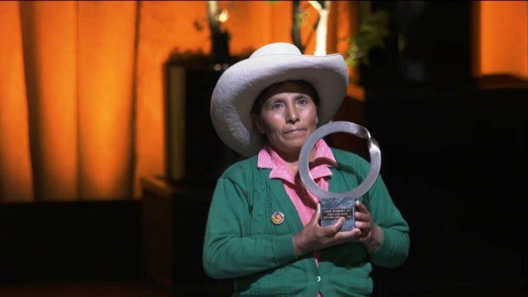 Peru anti-mining activist wins Goldman Environmental Prize