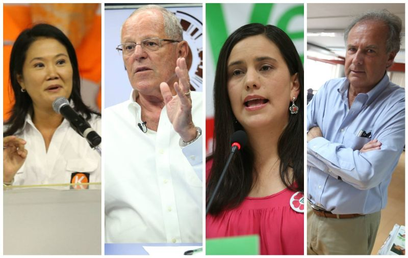 Peru: Mendoza surges to tie Kuczynski for second place