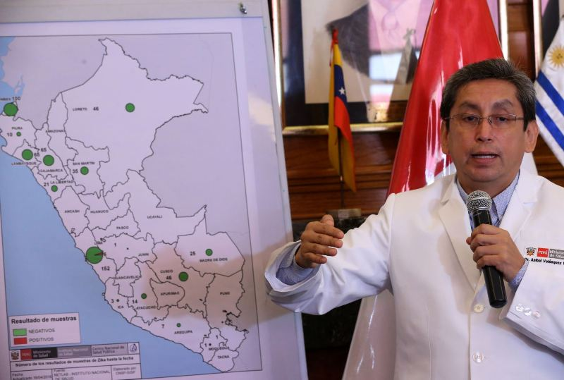 First sexually transmitted case of Zika virus in Peru