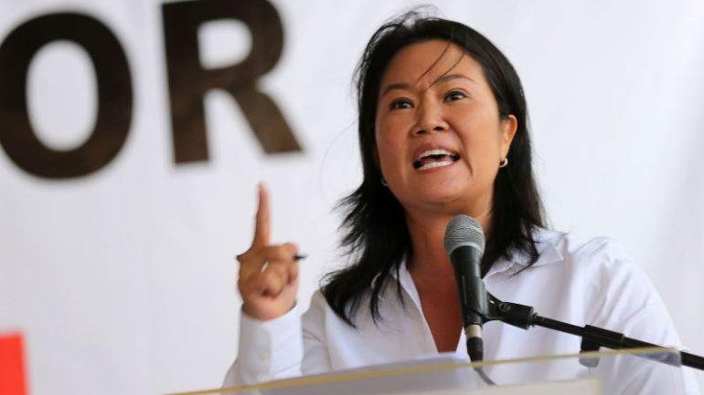 Peru's Keiko Fujimori embraces populism in runoff campaign