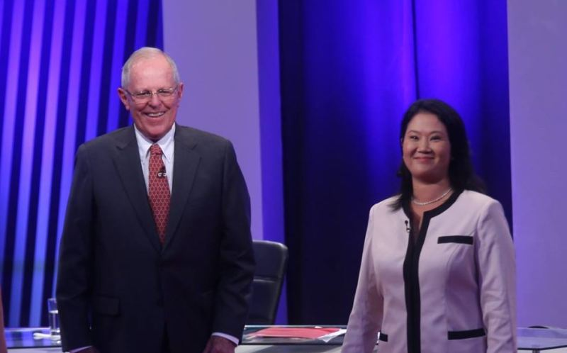 Fujimori leads Kuczynski two weeks from Peru's election: poll