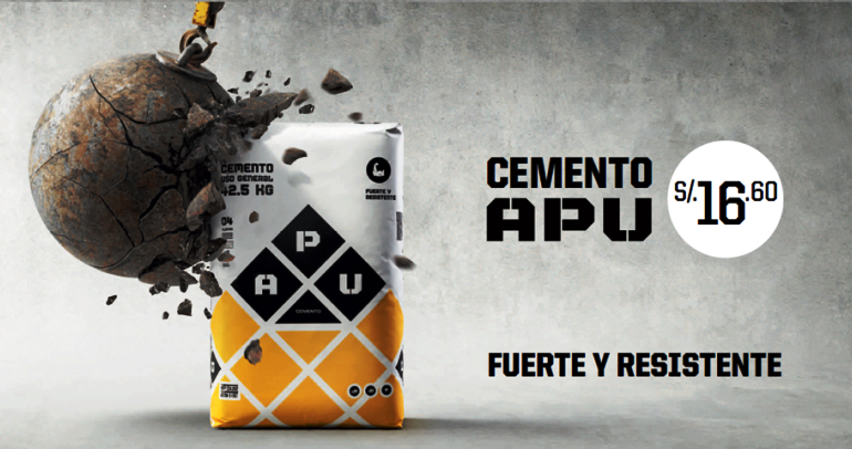 Peru ad agency awarded for low-priced concrete campaign