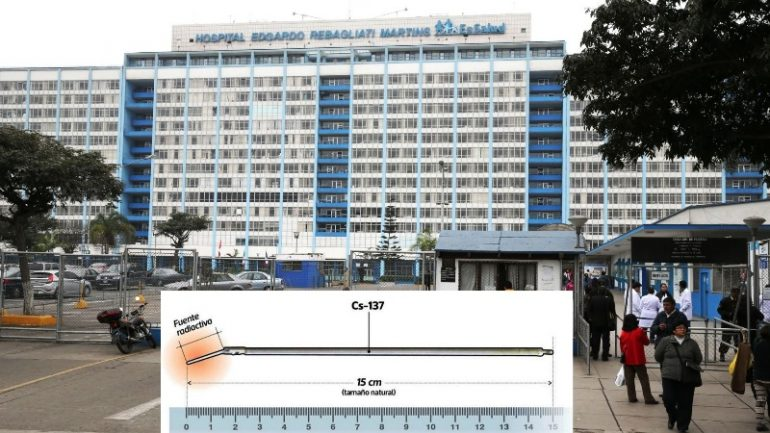 Radioactive device stolen from public hospital in Lima