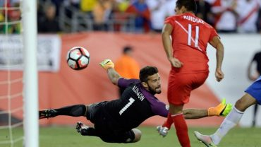 Luck and persistence take Peru to Copa America quarterfinals