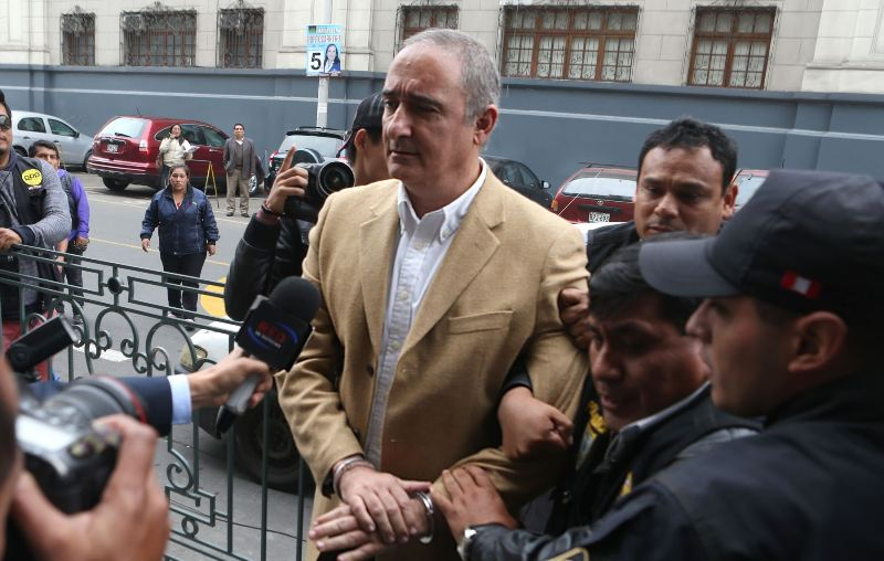 Lima political boss gets five years for corruption