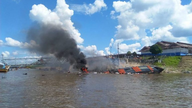 Seven killed after cruise ship explosion in Peru's Amazon