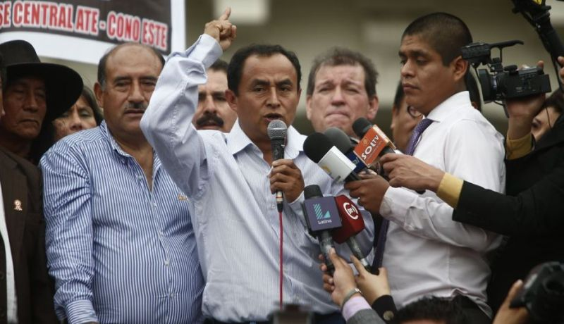 Anti-mining governor released from prison in Peru