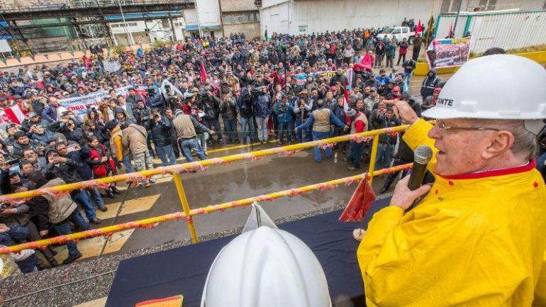 Peru: Kuczynski calls for protest to save mining company