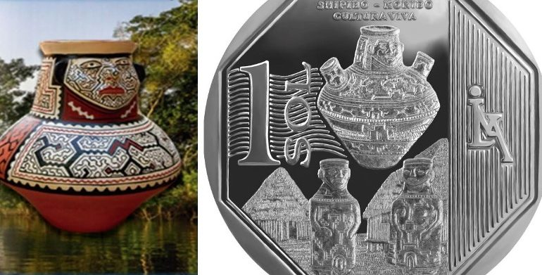 Collectors coin honors indigenous culture from Peru's Amazon