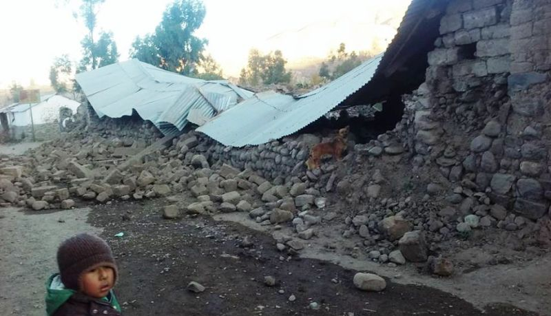 American killed in southern Peru earthquake