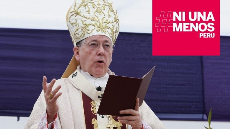 Lima archbishop under fire ahead of women's march