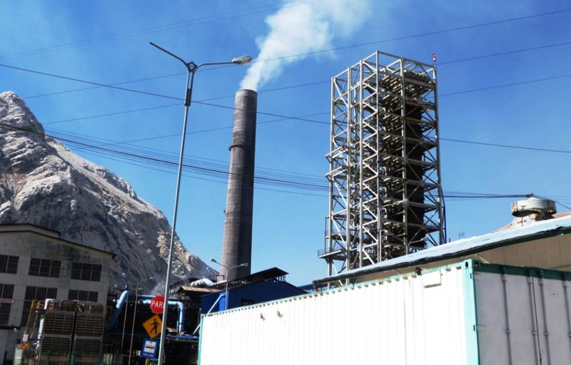 Peru changes bankruptcy law in bid to save historic La Oroya smelter