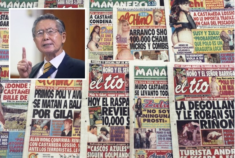Peru: Alberto Fujimori's conviction overturned in 'chicha press' case