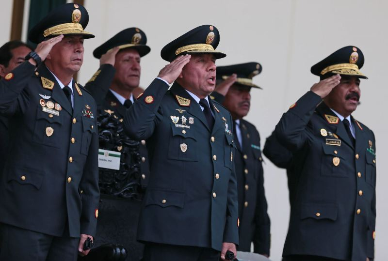 Peru forces dozens into retirement in shake-up of police force