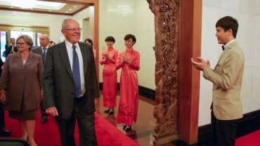Peru president courts Chinese investment in first international trip