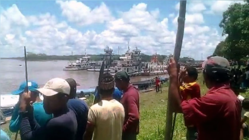 Natives release 200 hostages in Peru's Amazon after oil spill