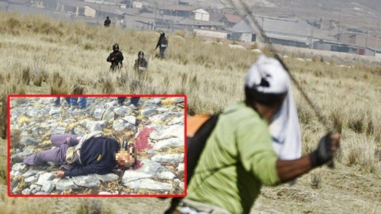 Peru police kill protester near Las Bambas copper mine