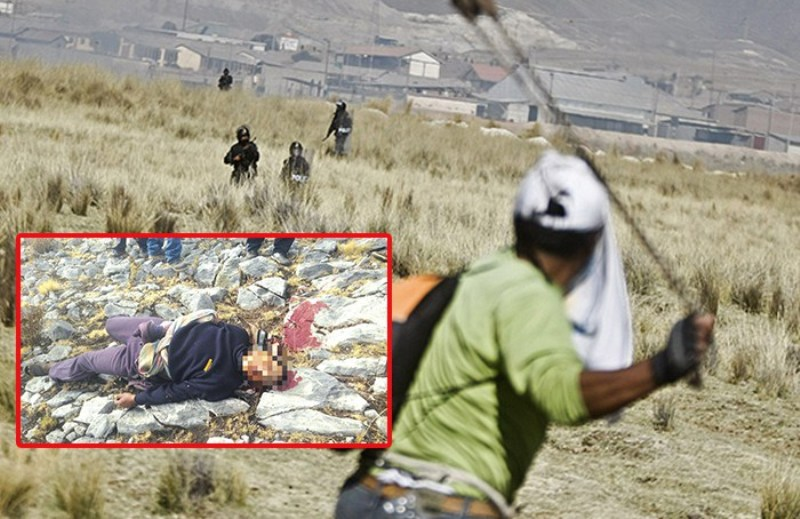 Peru police kill protester near Las Bambas copper mine