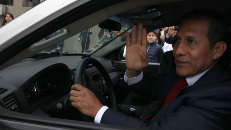 Peru investigates former President Humala for money laundering