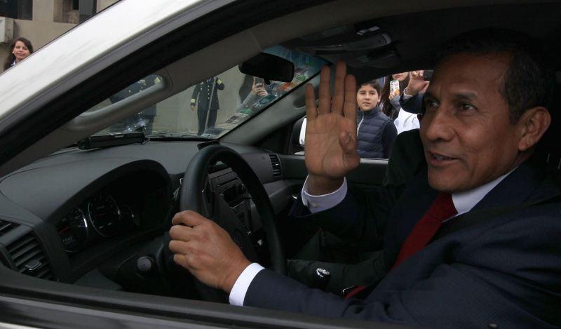 Peru investigates former President Humala for money laundering
