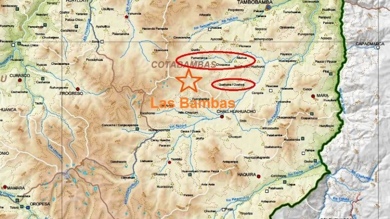Las Bambas: four villages threaten to paralyze Peru's largest copper mine