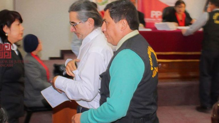 Governor jailed for corruption in northern Peru