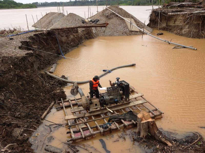 A look at life for the gold miners in Peru's Amazon