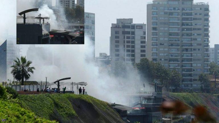 Fire kills four at Lima shopping mall ahead of APEC summit