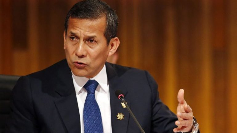 Peru judge orders ex-President Humala to post bail in corruption probe