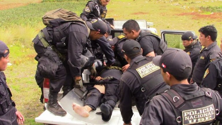 Protest against gold mine leaves one dead in northern Peru