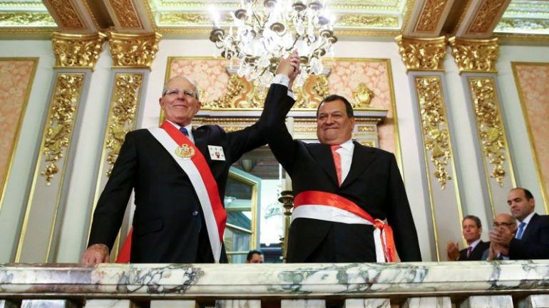 Peru's new defense minister to focus on defeating Shining Path