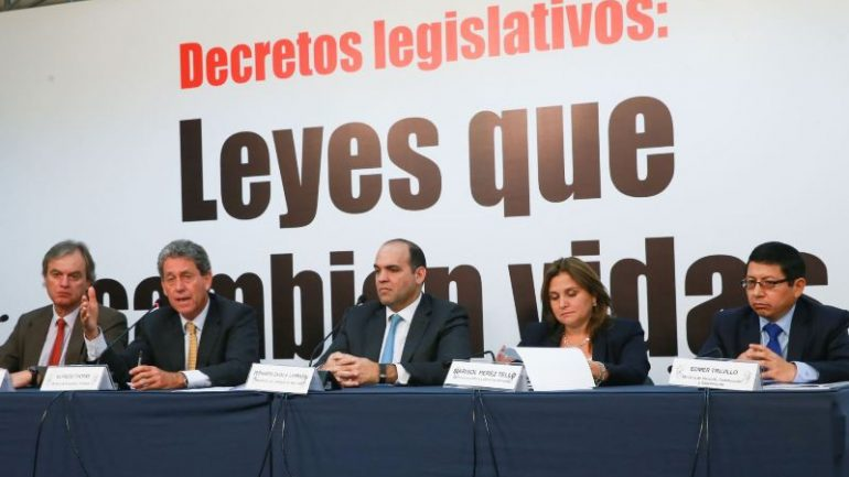 Peru's opposition party scrutinizes president's reform package