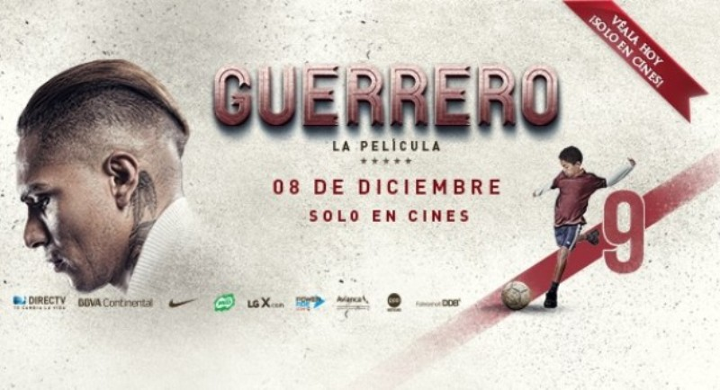 Paolo Guerrero biopic has successful premiere in Peru