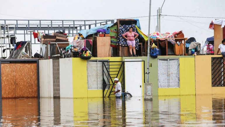 Five dead as torrential rains and flooding batter Peru