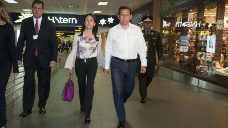 Report says Peru's former first lady linked to Odebrecht money