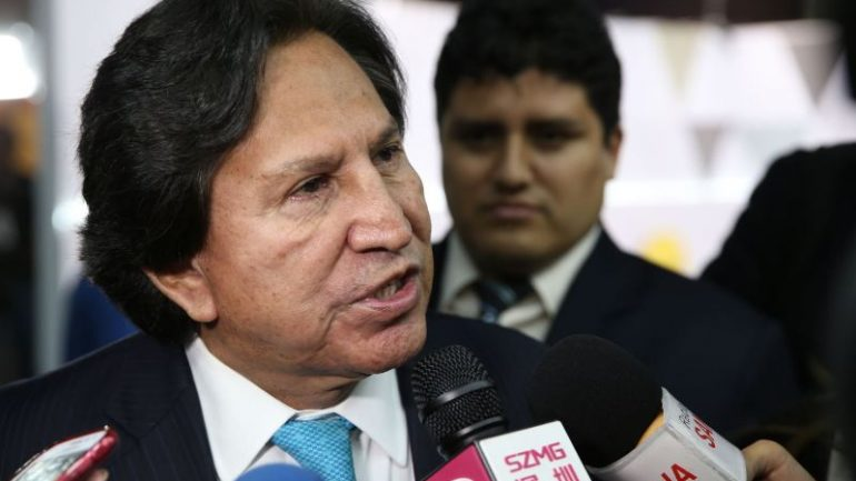 Peru to arrest former President Alejandro Toledo for corruption