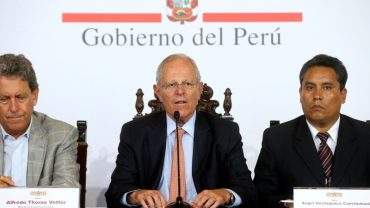 Peru president's approval drops in wake of floods