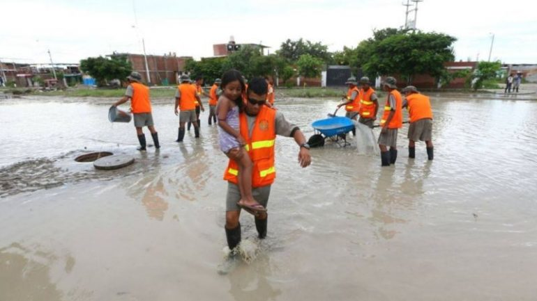 Heavy floods in northern Peru, some call for suspending Pan Am Games