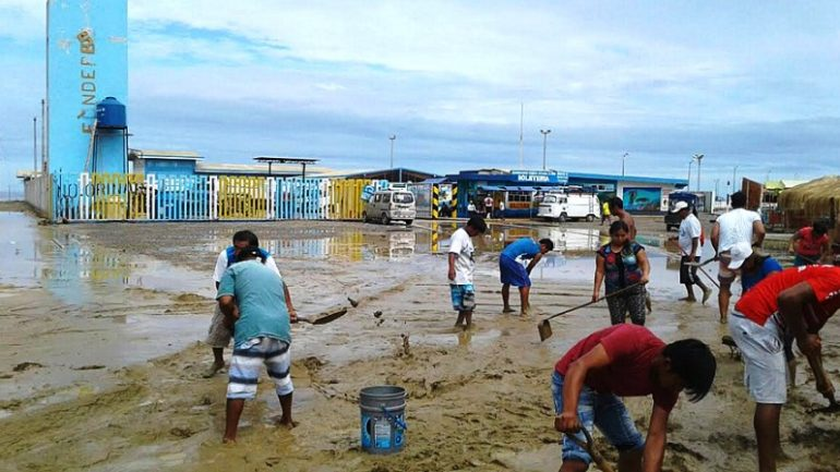 Flooding pushes back academic calendar in northern Peru