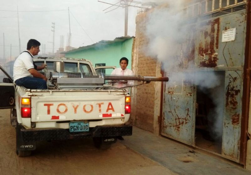 Authorities fight to contain dengue in northern Peru