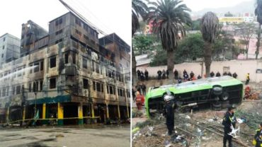 Lima citizens blame authorities for deadly fire and bus tragedy