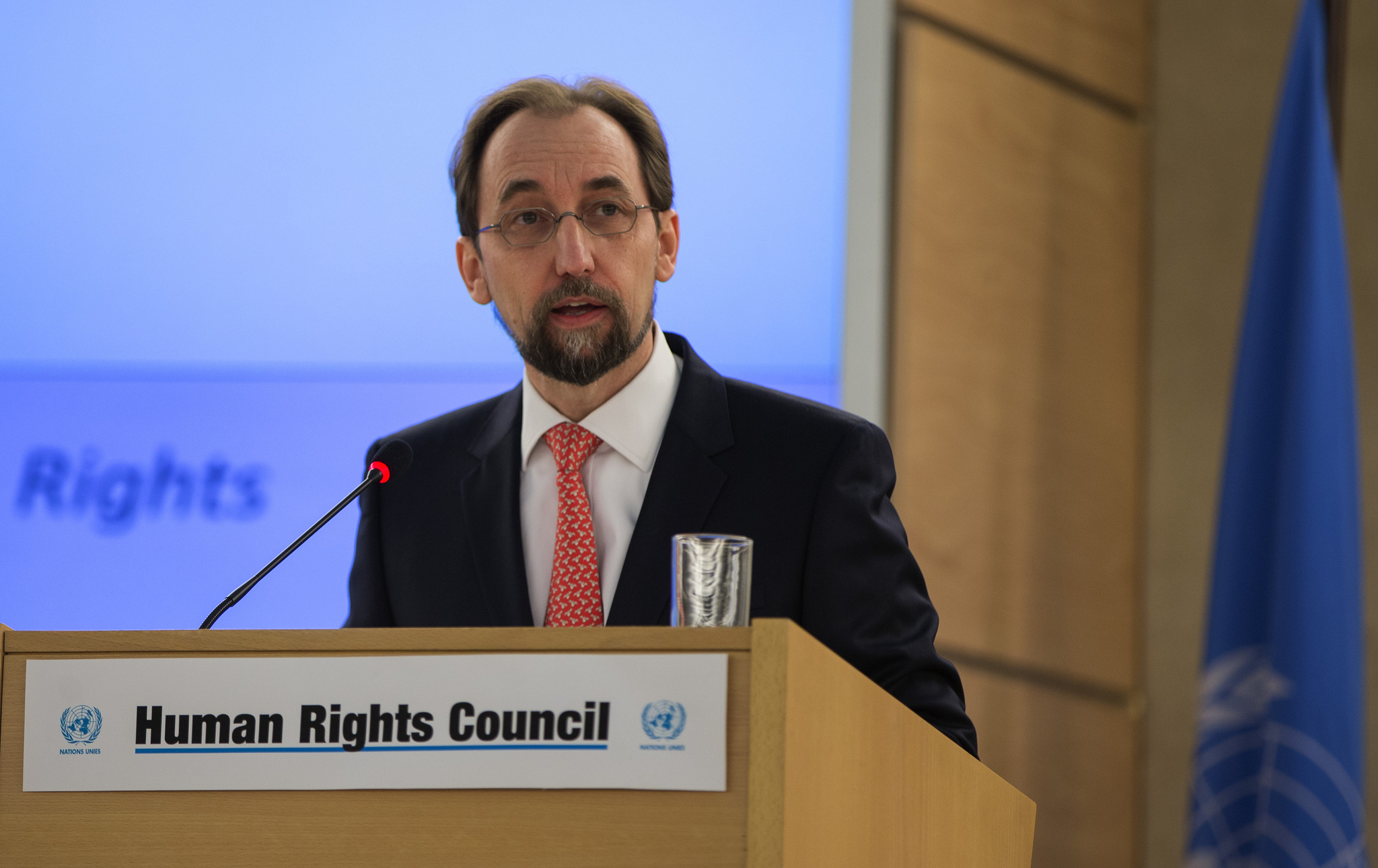 Zeid Ra'ad Al Hussein, UN High Commissioner for Human Rights visited Peru this week.