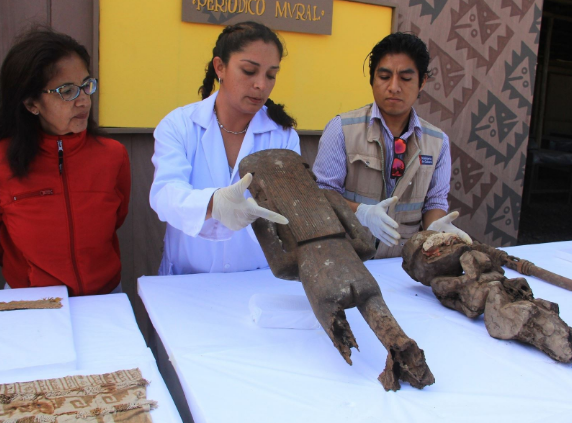 Archaeologists uncover rare artifacts pointing to role of women in Peru's largest pre-Columbian city