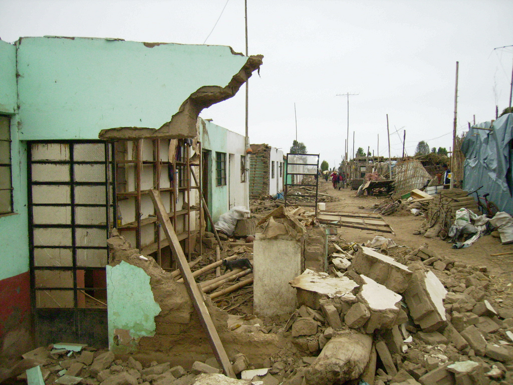 Peru 2007 earthquake Perureports