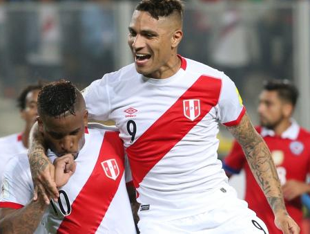Peruvian striker Guerrero eligible again to play at the World Cup