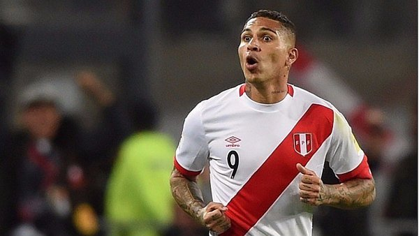 Suspended Peru captain Paolo Guerrero to miss World Cup in Russia