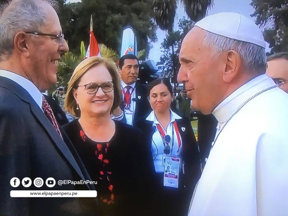 Pope leaves Peru following pleas to end corruption and protect the environment
