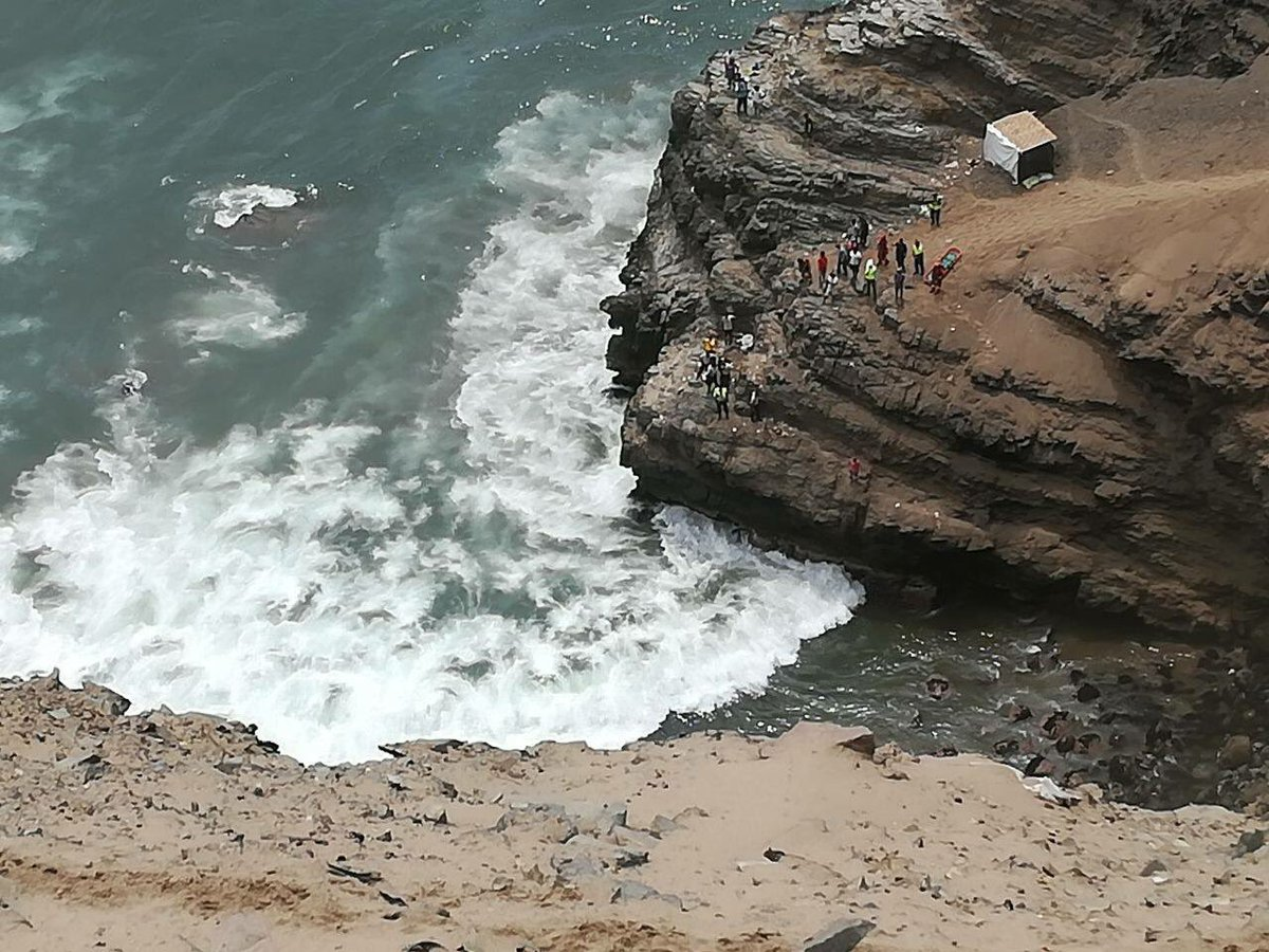 Nearly 50 dead after bus plunges down 100m cliff face on notoriously dangerous Peruvian road