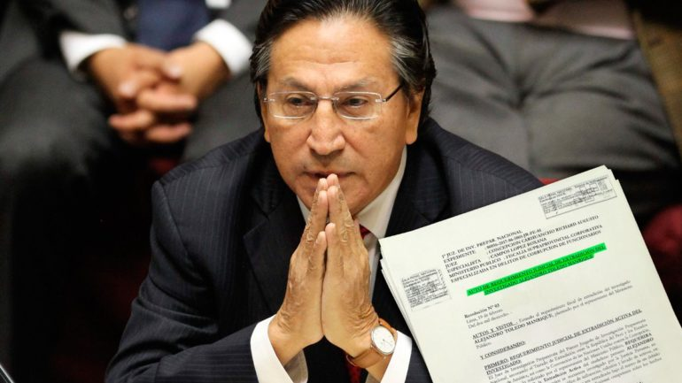 Former President Alejandro Toledo could be extradited from U.S. to Perú