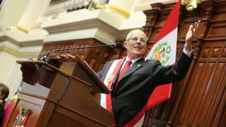 President Kuczynski denies latest allegations tying him to Odebrecht scandal